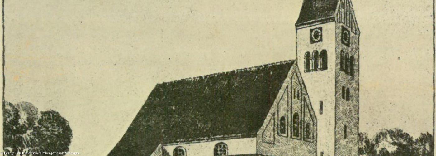 Kirche Schongau 1916