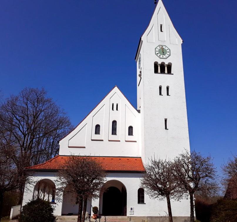Dreifaltigkeitskirche   Ev.-Luth. Kirchengemeinde Schongau