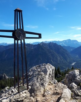 In den Bergen dem Himmel ein Stück näher